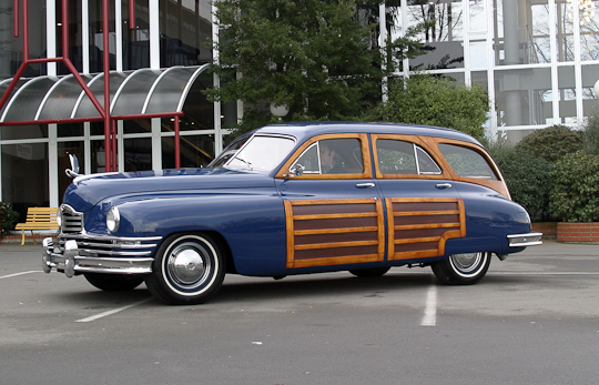 1948 Packard Woody Station Wagon on 1950 packard adds